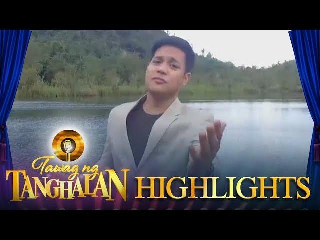 Tawag ng Tanghalan: Reggie Tortugo (The Homecoming)