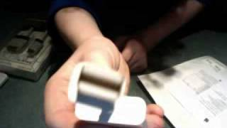 apple unboxing with mini display port adapter and belkin hdmi to dvi cable 21 12 09