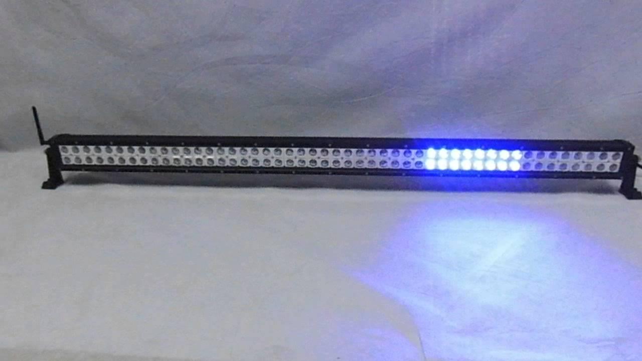 Doop 50 inch 288w rgb flashing led light bar youtube doop 50 inch 288w rgb flashing led light bar aloadofball Images