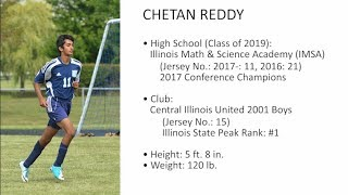 Chetan Reddy - Soccer Video (Latest Version)