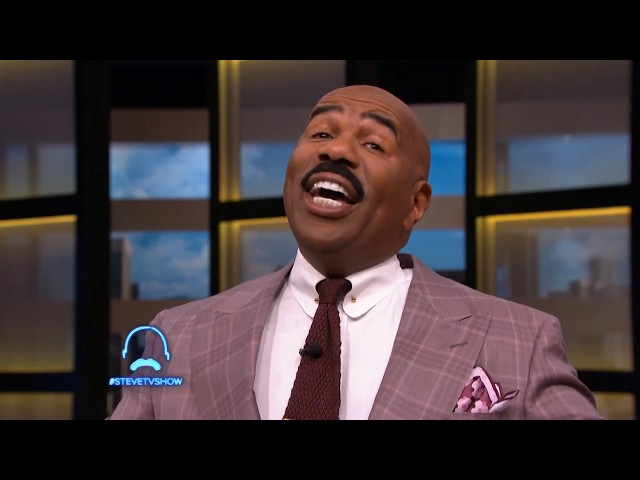 Steve Harvey:  Creates A Real Love Connection Between Two Audience Members.