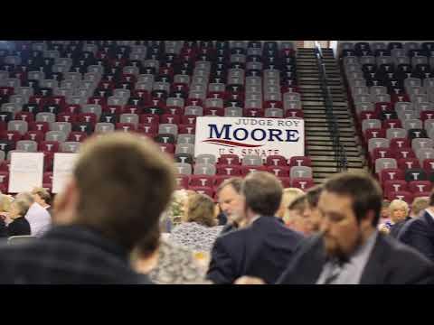 Judge Moore Addresses the ALGOP Summer Luncheon