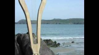 wind harp recorded on a beach