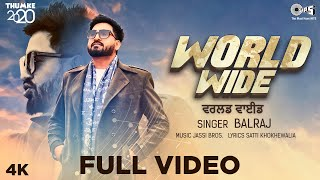 Uplift your mood with an upbeat track 'worldwide' sung by balraj, music jassi bros & lyrics satti khokhewalia from a brand new album thumke 2020. stay ...