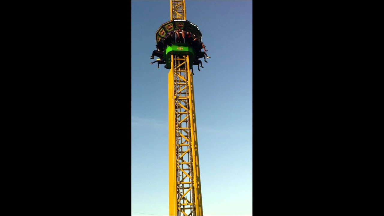 Enchanted Kingdom's EKstreme Tower Ride / Drop Tower - YouTube