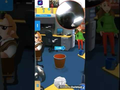 Paper toss my first video Eminem says you poop 😂😂😂😂😂😂