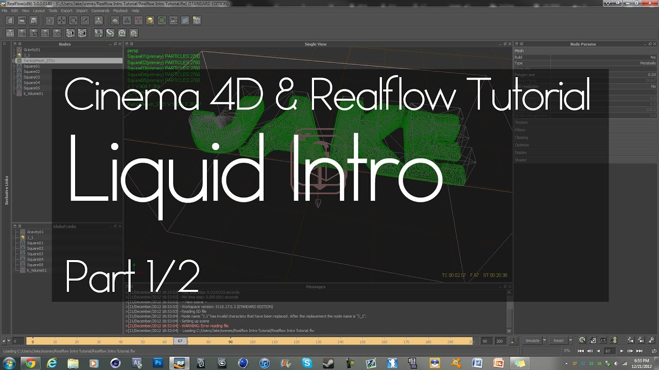 how to make liquid thicker realflow