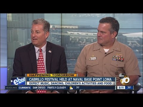 Cabrillo Festival Held At Naval Base Point Loma