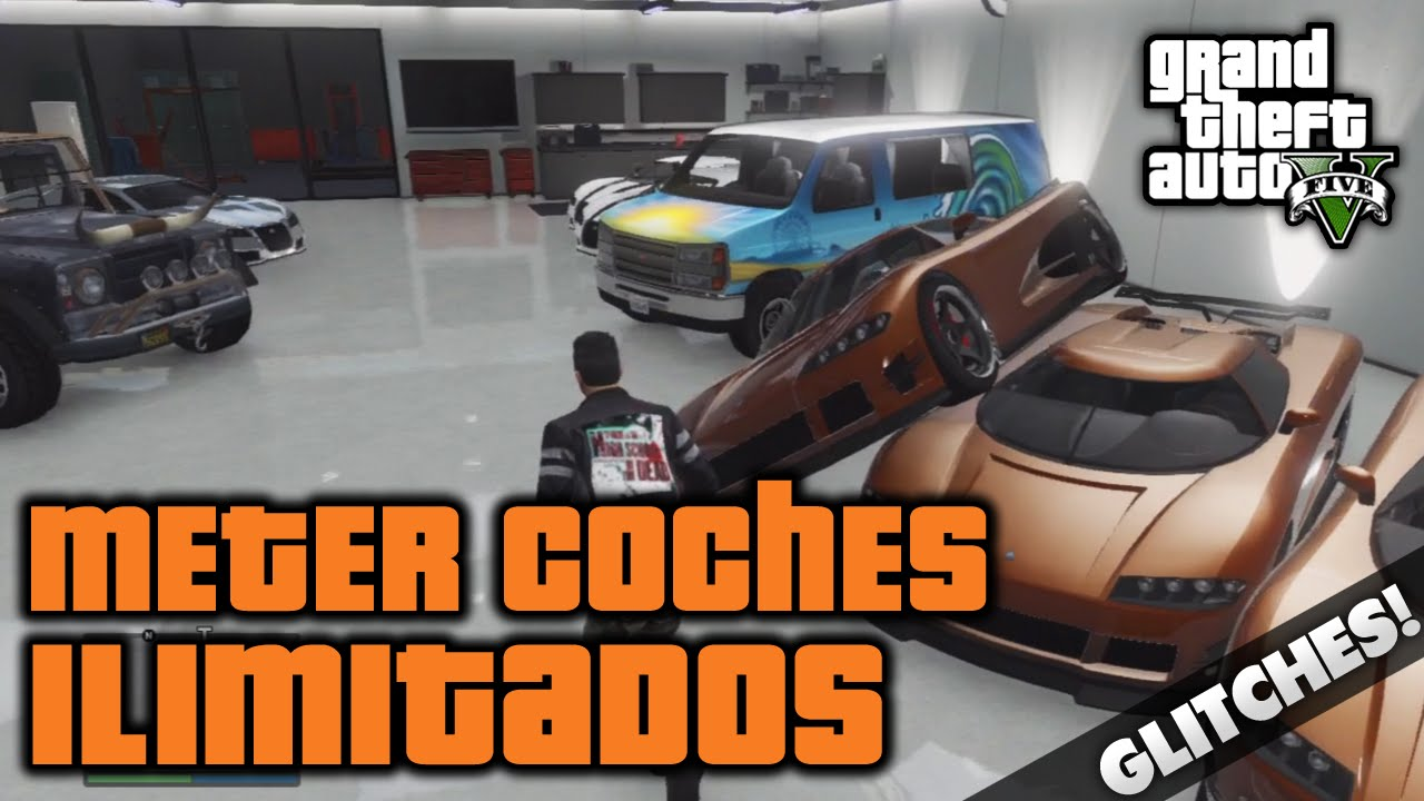 gta v online meter mas de 10 vehiculos en el garaje ilimitados grand