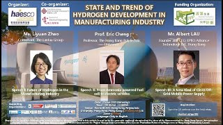 HAESCO - State And Trend Of Hydrogen Development In Manufacturing Industry