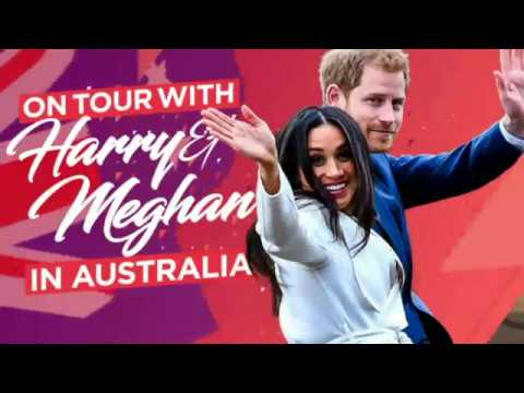 Duke and Duchess of Sussex put on the charm in Sydney after Meghan's pregnancy news