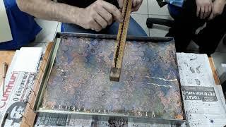 gelgit  ebru yapımı    Ders  1 Hezarfen İbrahim Sami Özen