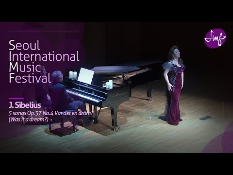 Ralf Gothoni l Jae-Eun Paik l Richard Strauss : 5 songs Op.37 No.4 Var det en dröm? l 2018 SIMF