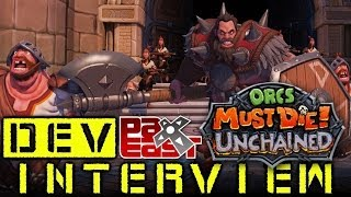 Orcs Must Die! Unchained - Dev Interview PAX East 2014