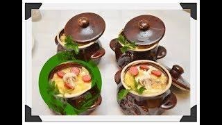 Вкусняшка на обед - Охотничьи колбаски с картофелем в горшочках. Вкусный рецепт