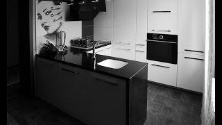 Белая кухня. Крашенные фасады, каменная столешница. Дизайн.(, 2013-12-13T18:00:20.000Z)