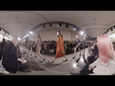 All Access at Jason Wu's New York Fashion Week Show (360 Video)