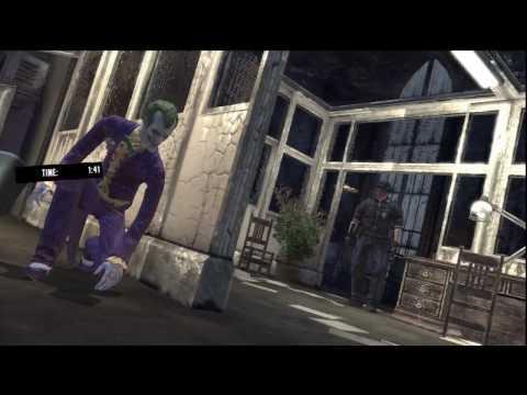 Batman Arkham Asylum: Joker Gameplay 8 - Hell's Hacienda - [HD]
