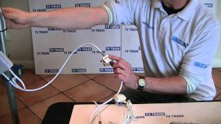 How to Install Power Passing TV Splitters