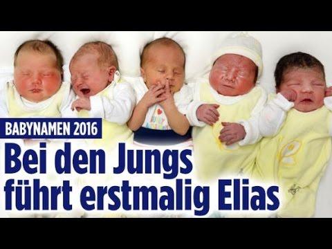 Beliebteste Baby-Namen / Assad-Hitler / Lukas Rieger - Aktuelle Nachrichten 11.04.17