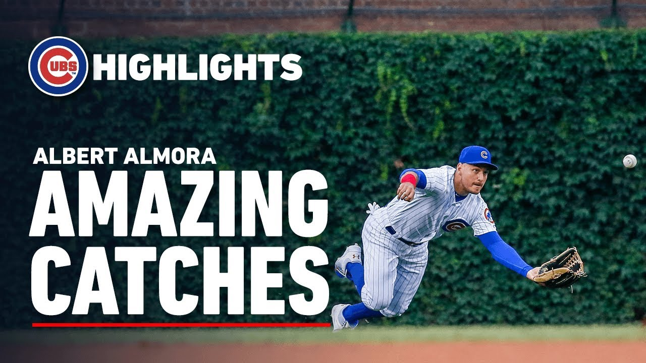 Cubs Outfielder Albert Almora's Amazing Catches