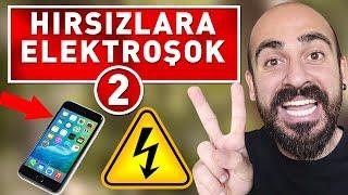 TELEFON HIRSIZLARINI ELEKTROŞOKLA TROLLEDİM 2 ! (ÇEKİLİŞ VAR)