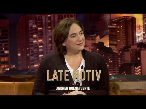 LATE MOTIV - Ada Colau. La alcaldesa de Barcelona en Late Motiv  | #LateMotivNavidad