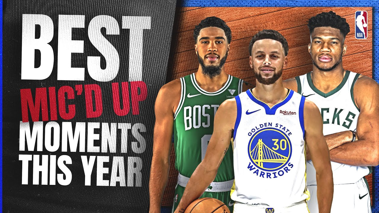 The Best Sounds From NBA 202021 Season   Micd Up