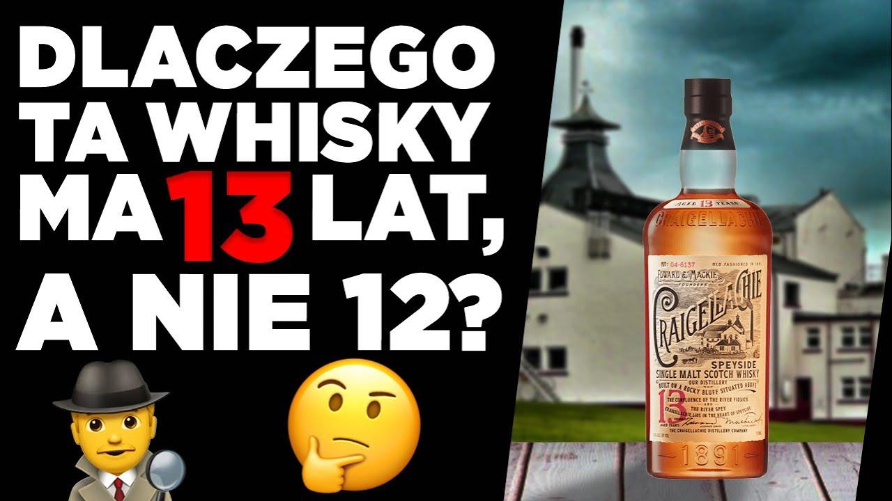 Jak wymówić nazwę i jak smakuje Craigallachie 13 yo single malt whisky z portfolio Bacardi-Martini?!