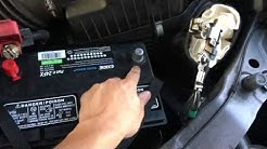 Replace Honda Odyssey Car Battery: 2014 - 2016