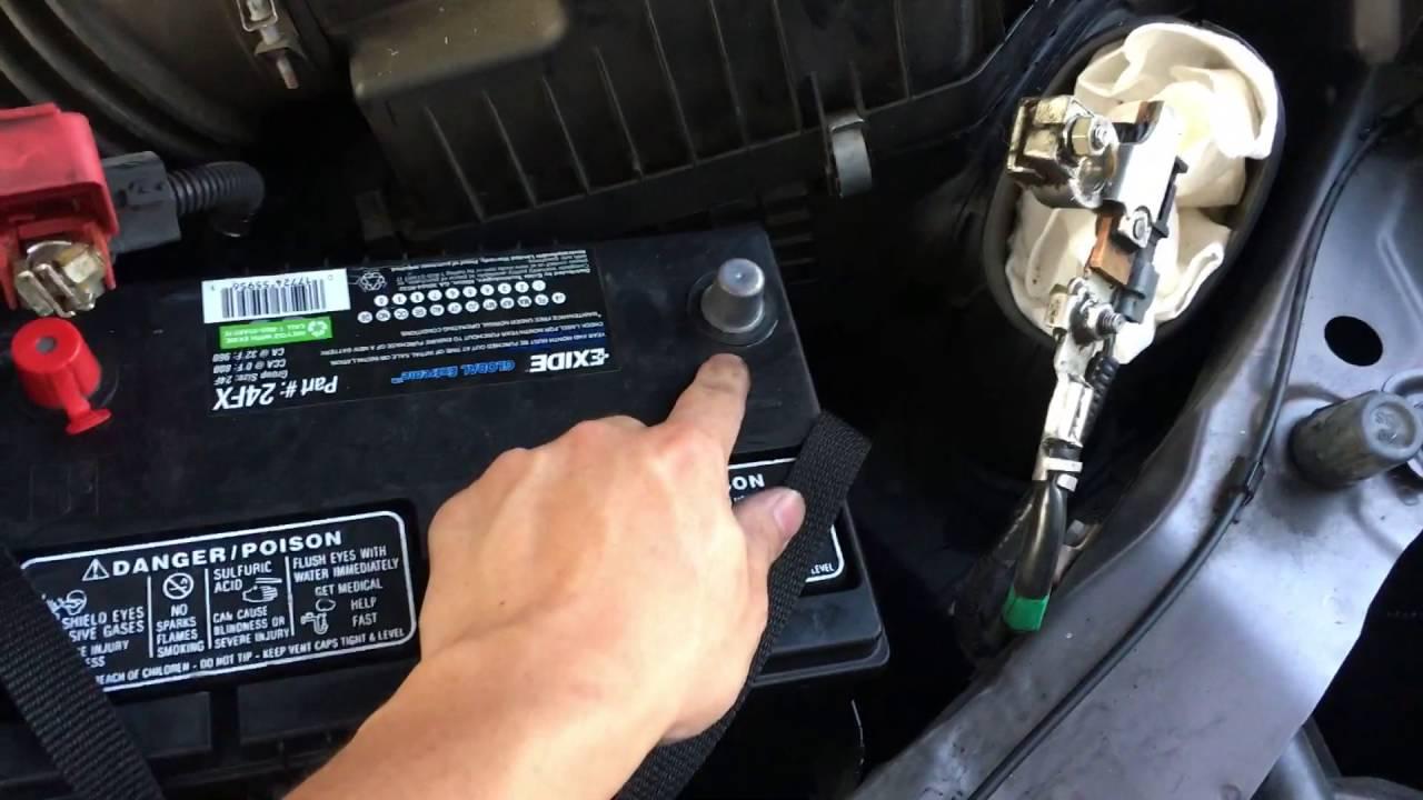 2006 Honda Odyssey Fuse Diagram Replace Honda Odyssey Car Battery 2014 2016 Youtube