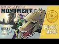 Budget Magic: Mono-Green Monument vs Four-Color Control (Match 1)