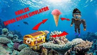 DYKKER EFTER IS! | Scuba Diving Simulator Roblox Dansk