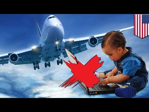 US Laptop Ban: 'Murica Might Ban Laptops On All Flights In And Out Of The Country - TomoNews