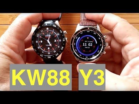 Kingwear KW88 vs LEMFO Y3 - Which should you buy?
