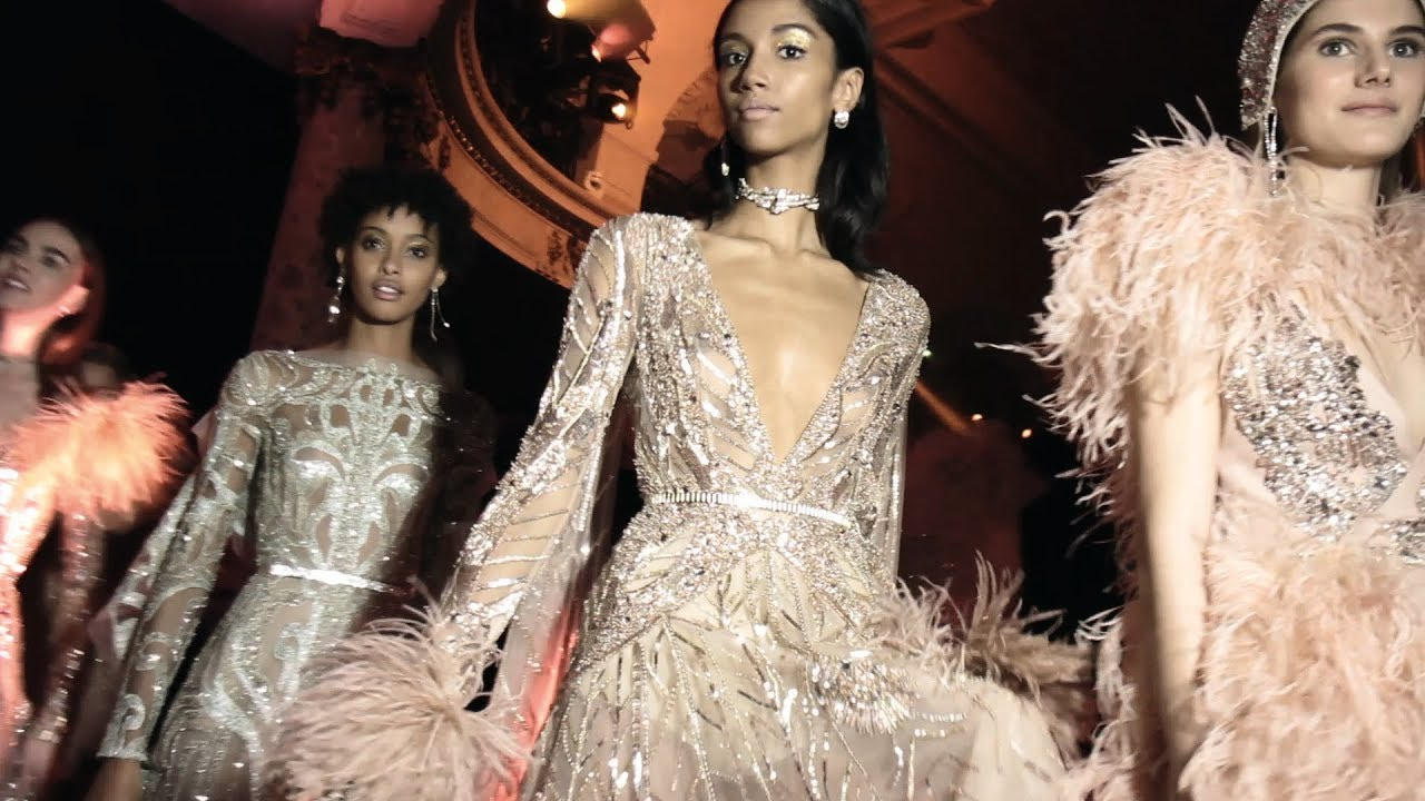 Elie Saab Spring / Summer 2018 Haute Couture - YouTube