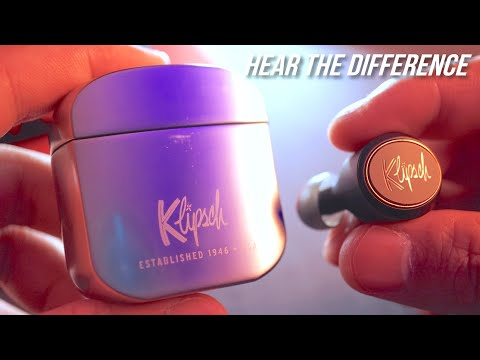 Klipsch T5 True Wireless Earbuds Review + Latency Test - Best Jabra Elite 65t Alternative