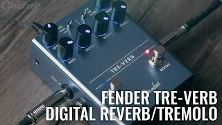Fender Tre-Verb Digital Reverb/Tremolo Demo & Review | Guitar.com