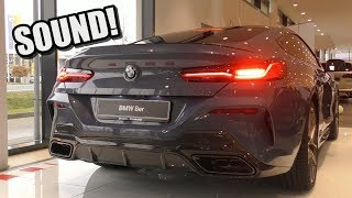 BRAND NEW 2019 BMW M850i Coupe - LOUD Start Up, Revs & SOUND!