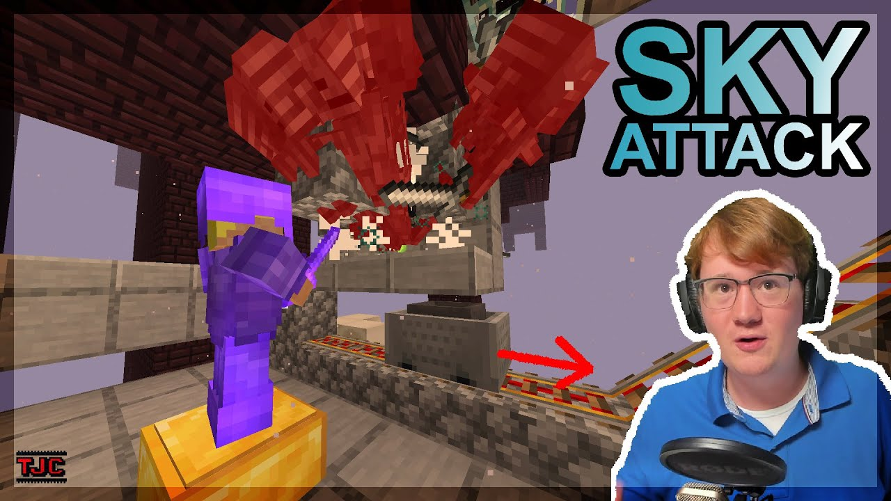 Witherskull ≠ Witherskull. Ah ja! REDSTONE WITHER-SKELETT FARM  - ☁️⚔️ Sky Attack 1 Ep. 017