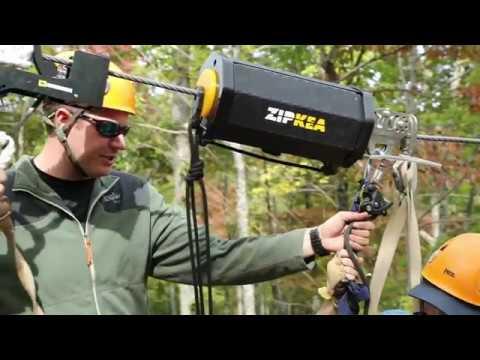 ZIPKEA   Zipline Braking And Retrieval System
