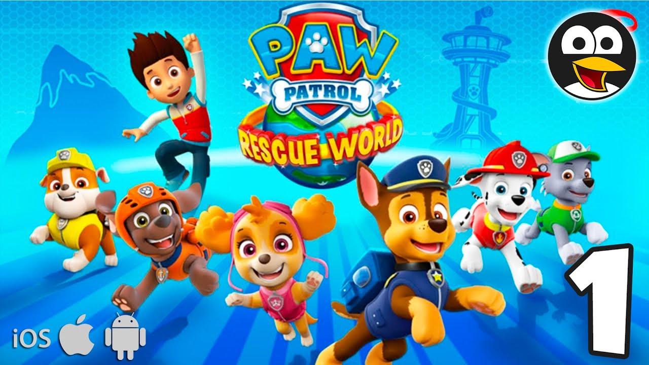 La Patrulla Canina Al Rescate en Español Latino - Vídeos de Juegos PAW Patrol para iOS y Android #1