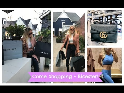 LUXURY SHOPPING DAY, Bicester Village Designer Outlet Shopping Haul. NEW GUCCI BAG. AD | EmTalks