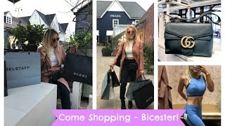 One of Em Sheldon's most viewed videos: LUXURY SHOPPING DAY, Bicester Village Designer Outlet Shopping Haul. NEW GUCCI BAG. AD | EmTalks