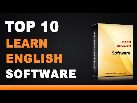 Best English Learning Software - Top 10 List