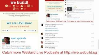 Li Haoyi - We Build SG Live