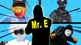 EXPOSING THE SECRET IDENTITY OF Mr. E !? TO CHAD WILD CLAY VY QWAINT AND THE CWC SPY NINJAS!
