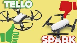 Tello vs DJI Spark - top 5 reasons to buy Tello
