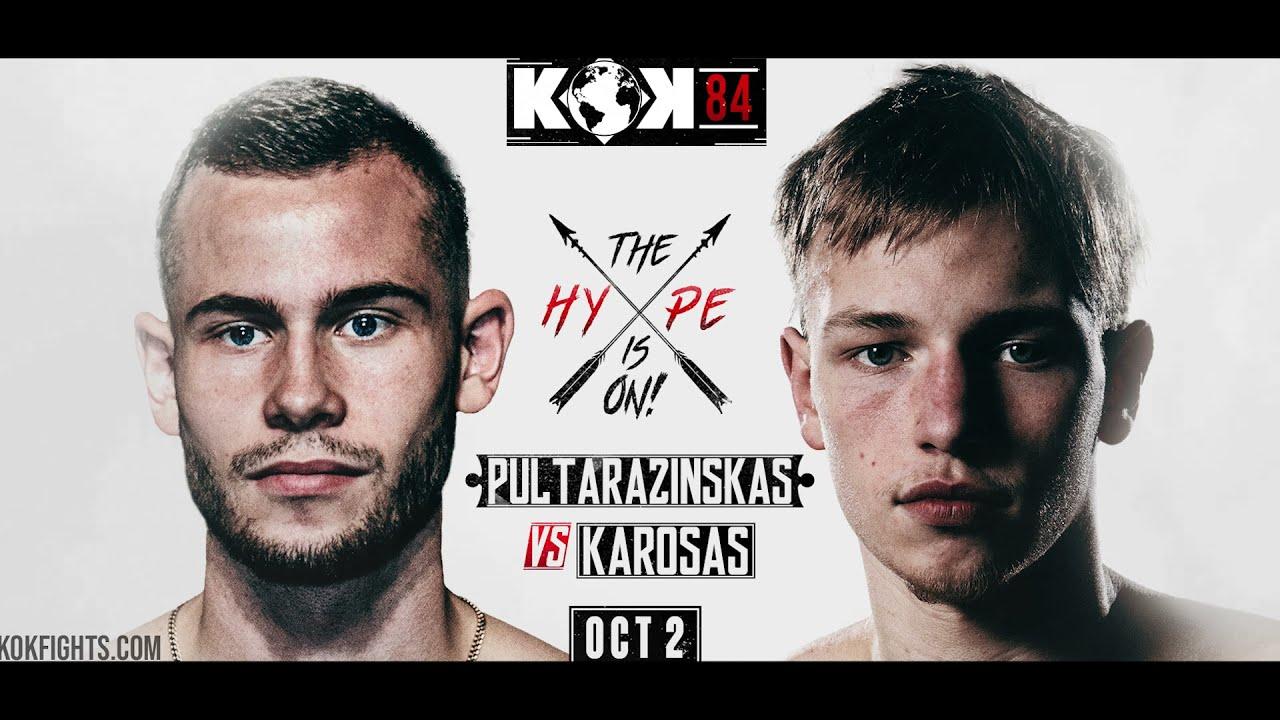 Karosas vs Pultarazinskas  02.10.2021 KOK