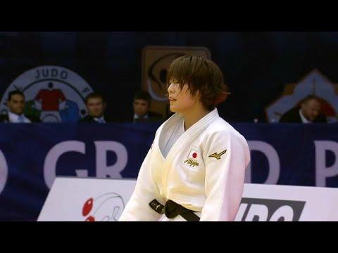 اليابانية دوا تتوج بالميدالية الذهبية في اليوم الثاني من منافسات الجائزة الكبرى للجودو ببودابست…  - 01:53-2019 / 7 / 14